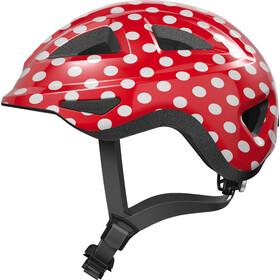 ABUS Anuky 2.0 Helmet Kids, czerwony/biały
